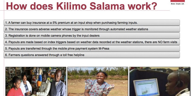 Big data in Africa: how an insurance company provides an optimized cover for farmers in Kenya