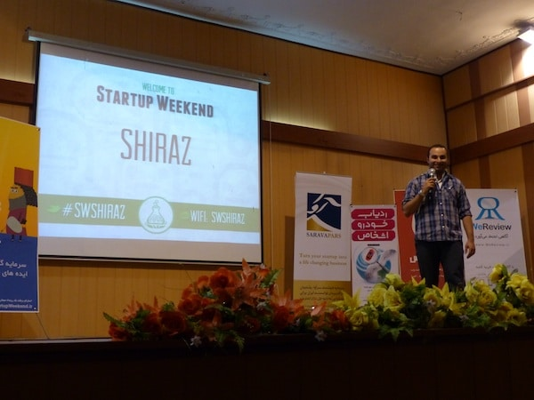 Martin pasquier innovation is everywhere Natalie corpuroglu startup weekend shiraz iran