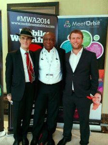 tomi ahonen matthew dawes and tomi davies at mobile west africa 2014 lagos nigeria innovation is everywhere