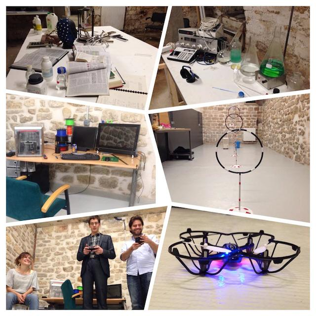 La Paillasse Nuit Blanche biohacking space hackerspace makerspace paris france europe innovation is everywhere 5 drone lab 2