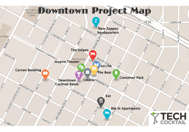 the downtown project las vegas tony hsieh zappos martin pasquier innovation is everywhere virtuous ecosystem map