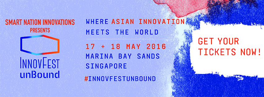 InnovFest unBound Innovation is everywhere Singapore innovation event