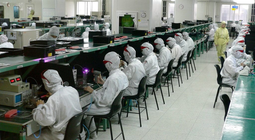 industry 4.0 shenzhen electronics factory