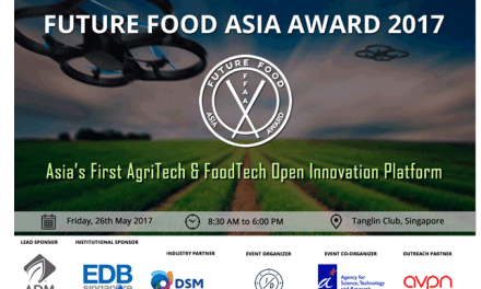 Future Food Asia 2017 : Join us to see game-changing AgriTech & FoodTech startups!