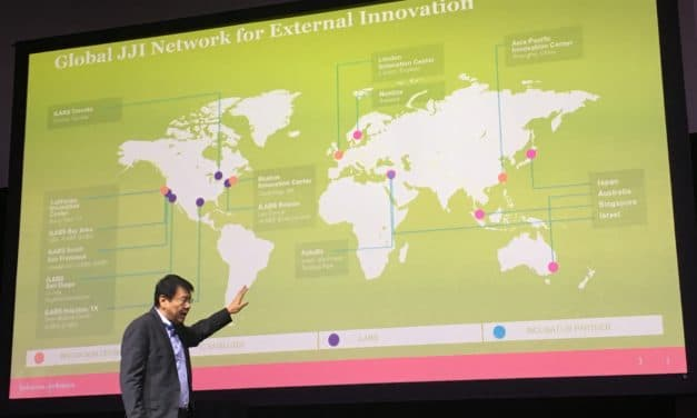 A glance at Johnson & Johnson's open-innovation strategy in healthcare in Asia-Pacific