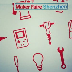 Shenzhen - Shenzhen Maker Faire logo and design 2014 innovation is everywhere martin pasquier eric pan cyril ebersweiler benjamin joffe haxlr8r