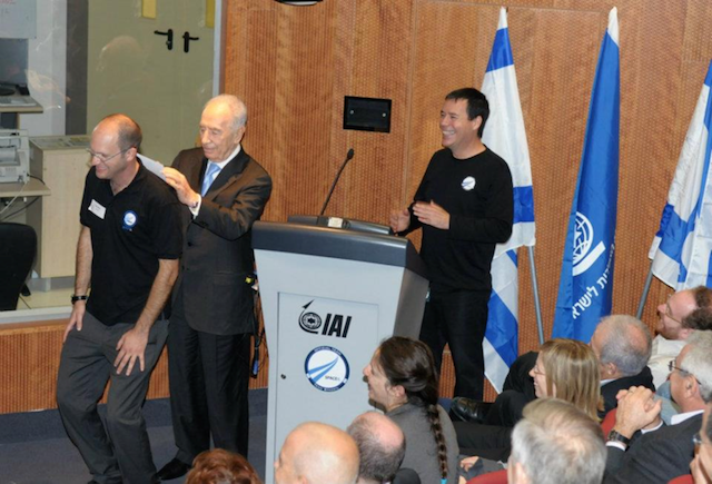 Innovation is everywhere Space IL Yariv Bash Shimon Peres space makers rover google lunar x prize 1