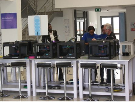 GE Garage general electric innovation strategy africa nigeria lagos fablab corporate innovation startups emerging markets innovation is everywhere 3 3D Printer