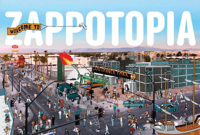 the downtown project las vegas tony hsieh zappos martin pasquier innovation is everywhere virtuous ecosystem zappotopia