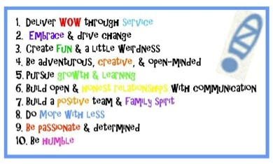zappos culture and rules