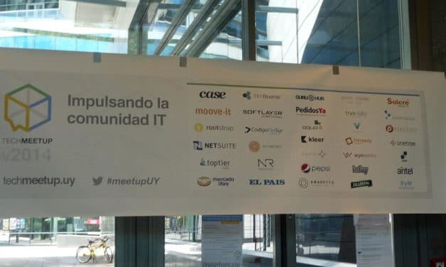 Meeting with the Uruguayan developer community at TechMeetUp Uruguay