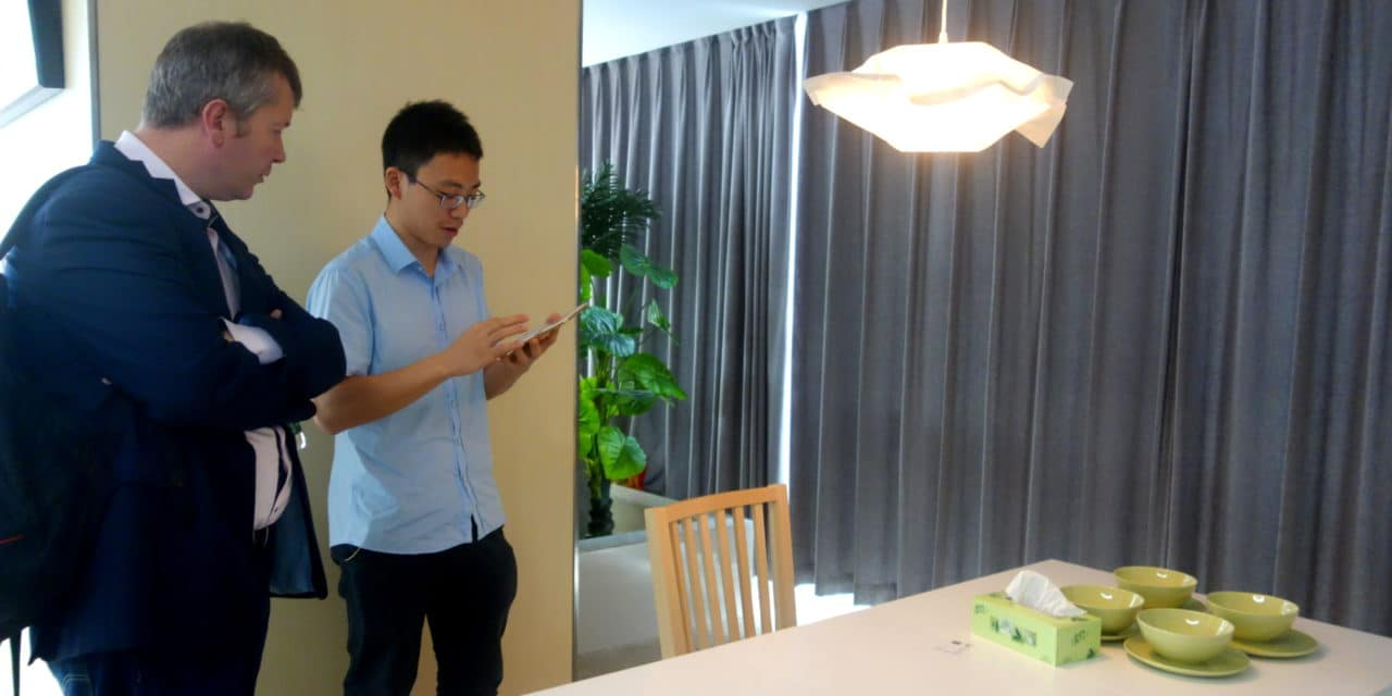 Visit of Orvibo, a smart home startup from Shenzhen