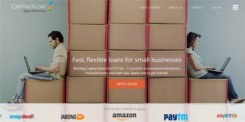 startup in India capital float