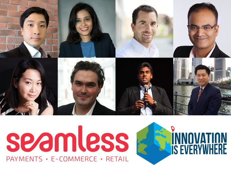 Speaker showcase for Seamless 2017 with Hanno Stegmann from APACIG (Rocket Internet) and Karen Chan from Pizza Hut APAC amongst many more