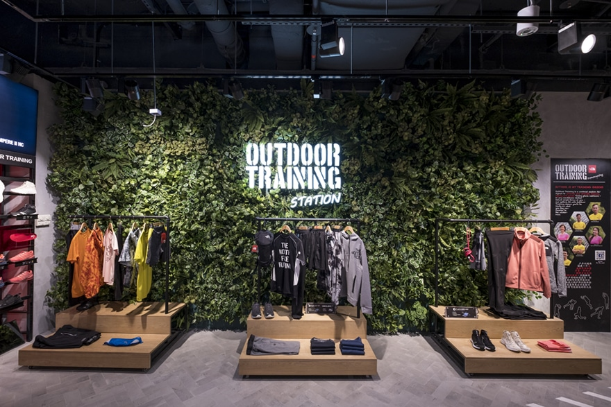 "The North Face's ""Outdoor Training Stations"" form the basis for their new retail concept to create communities that engage loyal consumers with the brand."